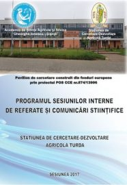 Sesiuni interne de referate si comunicari stiintifice SCDA 23.02.2017-30.03.2017
