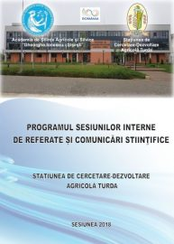 Sesiuni interne de referate si comunicari stiintifice SCDA 23.02.2018-30.03.2018
